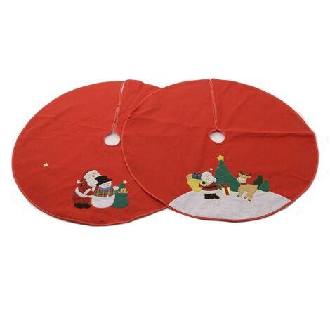 Base decorativa redonda para arbol navidad 100cm diametro