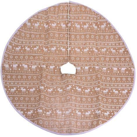 d4b1e63ee0129 Base decorativa redonda para arbol navidad vintage 84cm
