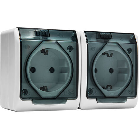 Base Enchufe Elec 16amp250v Sch.dob Est.tt Lat Ip54 Bl Pool