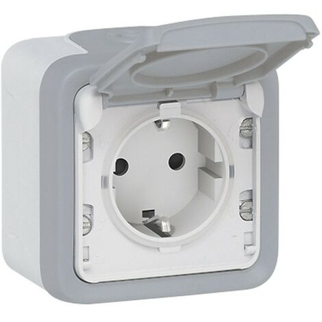 BASE ENCHUFE EXTERIOR IP55 SERIE PLEXO