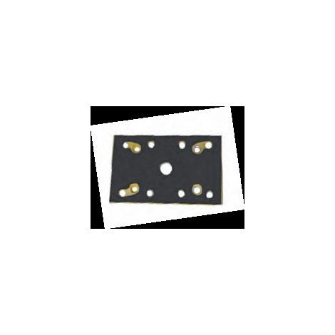 Base móvil rectangular de velcro LR84 Virutex
