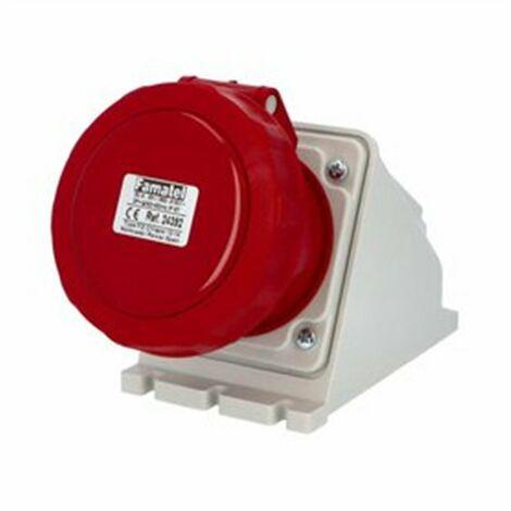 BASE MURAL IP67 S.11 32A-380/415V 3P+T