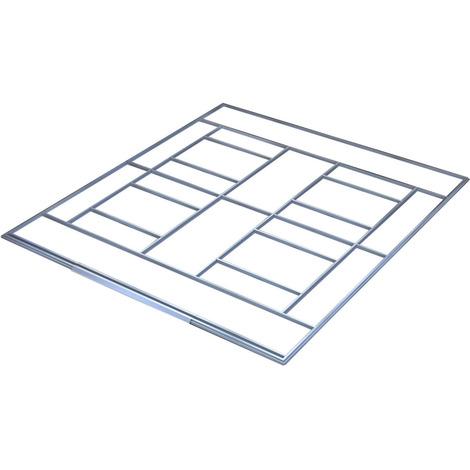 suelo para una caseta de jardín
