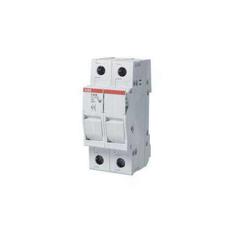 Base portafusible E92/50 50A 2p ABB 2CSM277972R1801