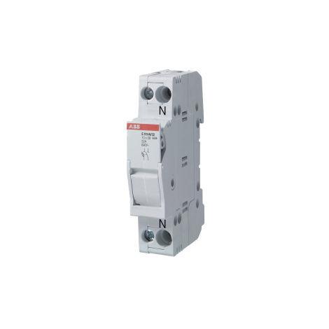 Base portafusible E93N/50 50A 3p+N ABB 2CSM277952R1801