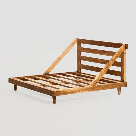 Base pour canapé modulable Yebel (100x100 cm) SKLUM Bois d'acacia Bois Rustique - Bois Rustique Bois Rustique