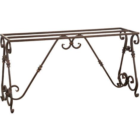 Base pour table en fer L148xPR41xH76 cm