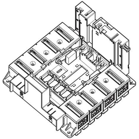 Base prises avant pour DPX1600 3P rendu débrochable par un mécanisme Débro lift (422586)