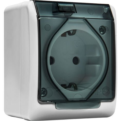 Base Superficie Tt Lateral Ip54 16 A - FAMATEL - 5123