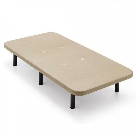 Base tapizada 3D BASE + PATAS 32CM 90x200