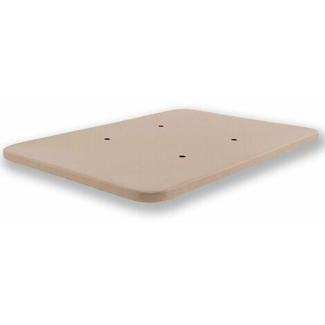 Base tapizada 3D BASIC | Dimensiones : 135 cm. x 190 cm. - Juego de Patas: No