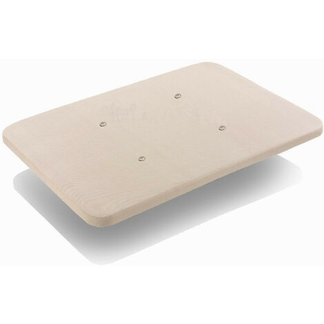 Base tapizada 3D con valvulas de transpiracion, sin patas.