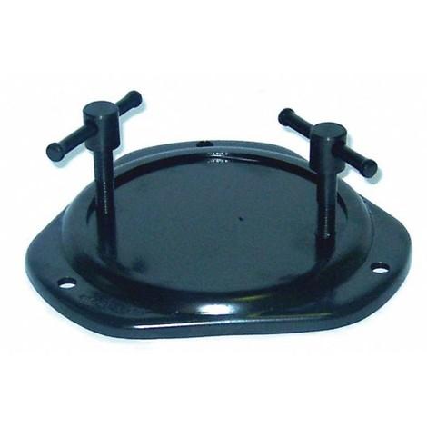 Base tournante DOLEX 360° acier pour étaux 54-85-104-45