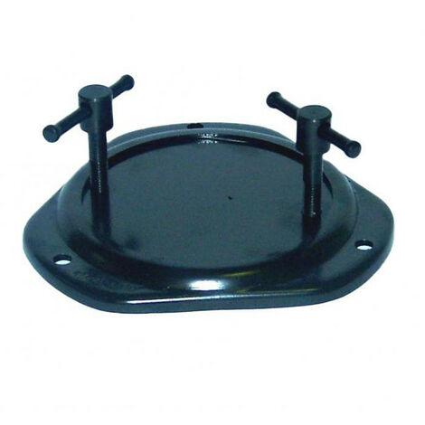 Base tournante pour étaux DOLEX - Pour Dolex: 56 - 87 - 76 - 47