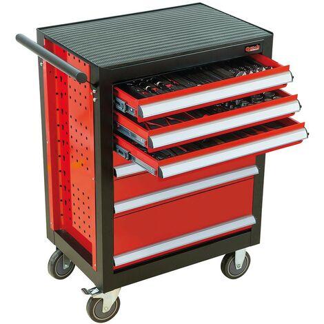 BASELINER 6 TIROIRS 109 PCS THERMO - GAMME RANGEMENT ET COMPOSITIONS - OUTIL PROFESSIONNEL - MOB