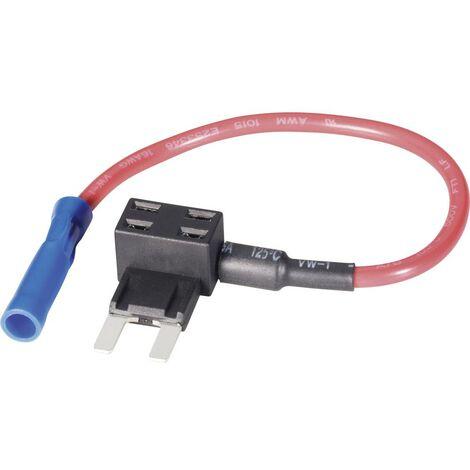 Basetech Adaptateur fusible plat mini-fusible plat Pôle 1 15 A 1.50 mm² 1 pc(s)