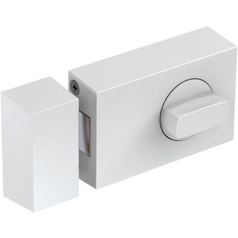 BASI® Kastenzusatzschloss KS500 Tür-Zusatzschloss Edelstahl, Silber, Weiß, Braun Sicherheitsschloss