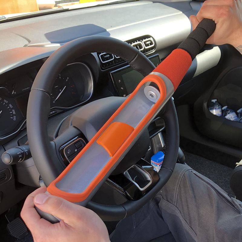 Lenkradschloss Lenkradkralle Lenkradsperre Diebstahlsicherung Lenkrad PKW Auto