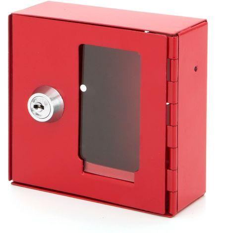 BASI® NK 215 Notschlüsselkasten 2150-000 Schlüssel-kasten-Box Glasscheibe Sichtfenster abschließbar Notfall
