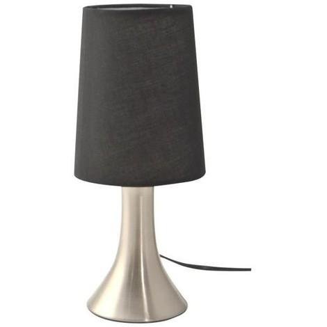 Noir Lampe Jour Abat Cm Chevet Basic E14 Tactile Ampoule De H28 eHbW9ED2IY