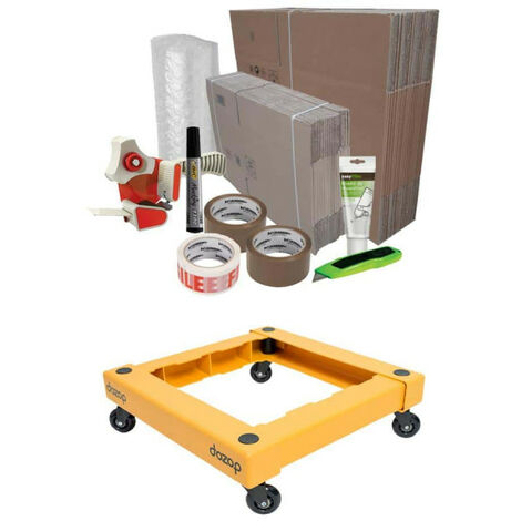 Basic Plus Moving Pack - DOZOP compact dismountable transport trolley