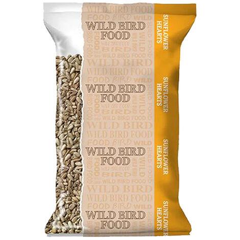 Basics Sunflower Hearts Bird Food (400g) (May Vary)