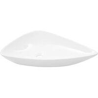 Basin Ceramic White Triangle 645x455x115 mm
