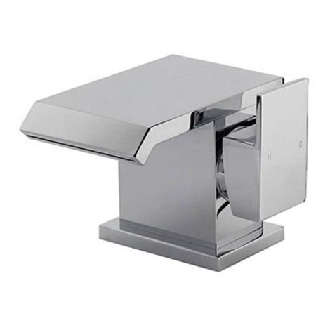 """main image of """"Basin Mono Mixer Tap With Waste - Series UI by Voda Design"""""""