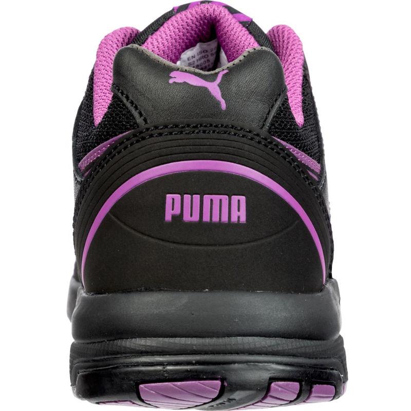 b20986ead423 Basket de sécurité basse femme Puma Stepper Low S2 HRO SRC Noir / Rose 39 -  38197