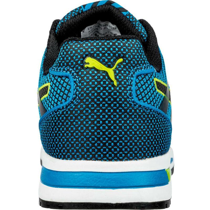 Basket de sécurité basse Puma 100% non métallique Blaze Knit Low S1P Bleu
