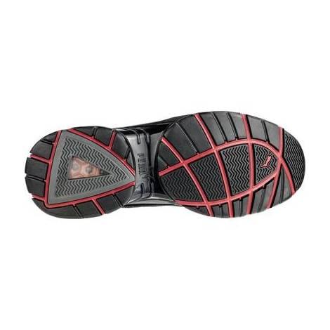Basket de sécurité basse Puma Fuse Motion Red Low S1P SRC Noir