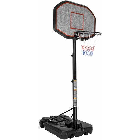 Basketball hoop - basketball hoop, kids basketball hoop, basketball backboard - black