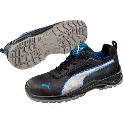 Baskets de sécurité Atomics S3 SRC Puma Noires/Bleues