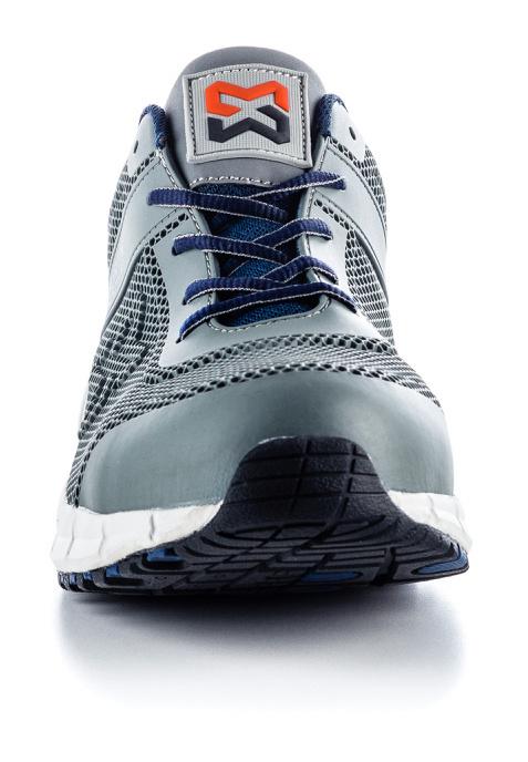 Baskets de Sécurité S1P Active X basses Würth MODYF Grises et Bleues
