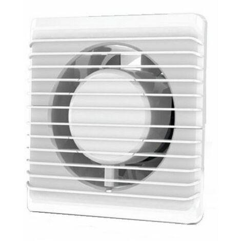 Basse énergie salle de bain cuisine silencieuse hotte 100mm avec extraction de ventilation du capteur d'humidité