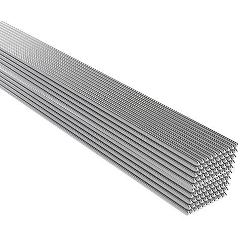 Basse Temperature En Aluminium Pur Fil De Soudage Au Fil Fourre A Souder Rod Pas Besoin De Soudure En Poudre, 500 * 1.6Mm 100Pcs
