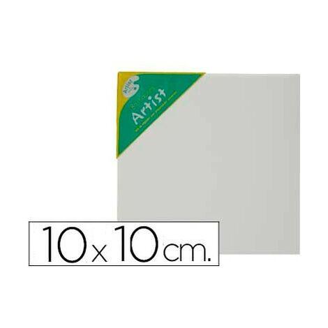 Bastidor artist lienzo grapado trasero algodon 100% 12x12 cm