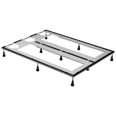 Bastidor base Duravit para plato de ducha 90x90 cm, altura regulable de 8-10 cm - 790168000000000