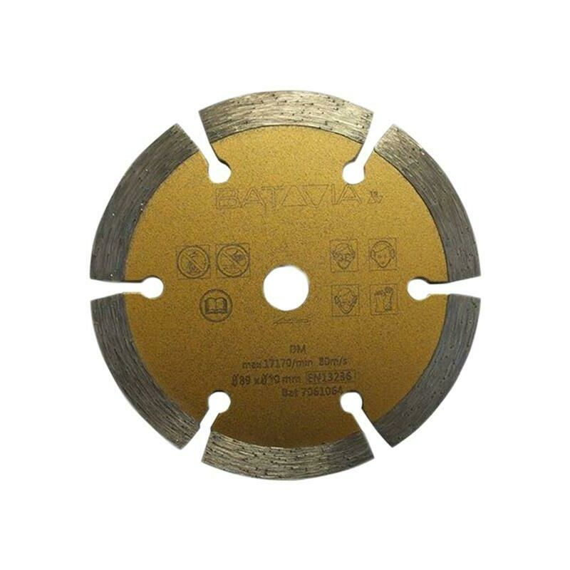 Image of Batavia 7061241 MADMAXX Diamond Saw Blade 89 x 1.8 x 10m