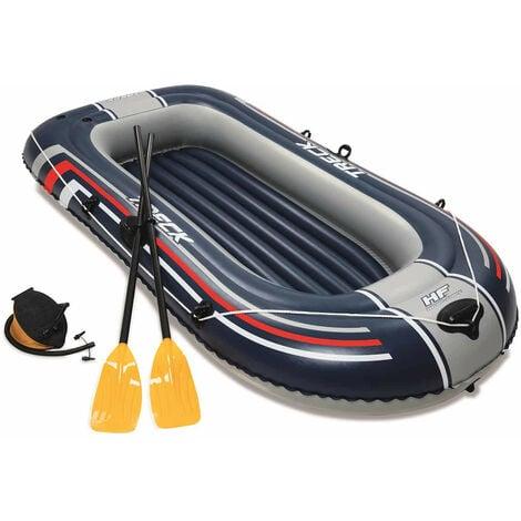Bateau Gonflable Hydro-Force Raft Bestway 228x121x36 cm Pagaies Pompe à Pieds