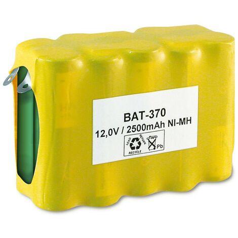 Bateria 12V 2700mA NiMh R6x10 Con Terminales