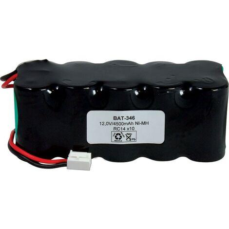 Bateria 12V 4500mA RC14x10 C/Hilos NiMh