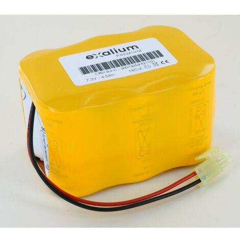 Batería 7.2V 4.5Ah NiCd CR012LZ para Thermo Electron TVA1000