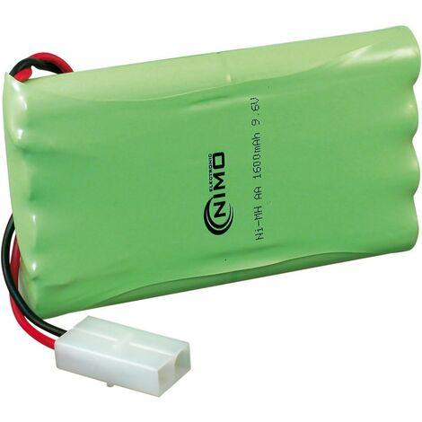 Bateria 9,6Vdc 1600mA NiMh RACING 8xAA