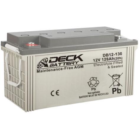 Batería AGM 12v 128Ah | Deck Sellada DB12-130