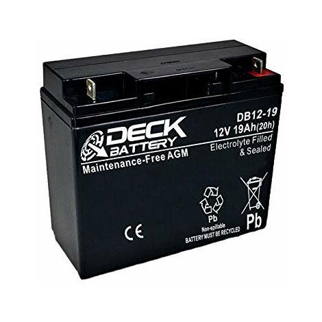 Batería AGM 12v 19Ah | Deck Sellada DB12-19