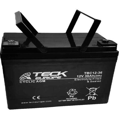 Batería AGM 12v 36Ah | Deck Sellada DB12-36