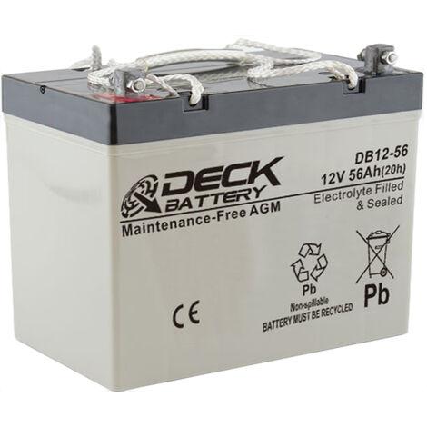 Batería AGM 12v 56Ah | Deck Sellada DB12-56