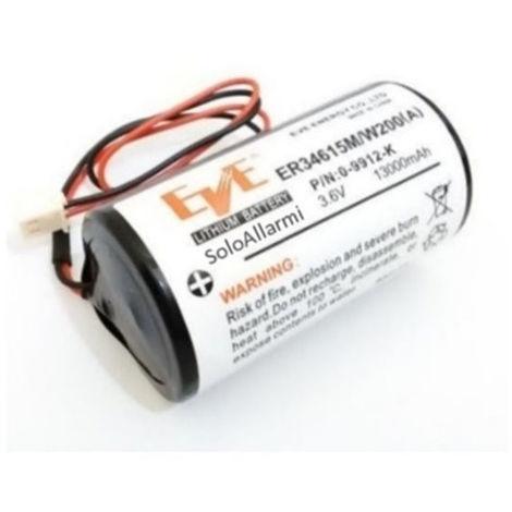 Batería Bentel para la sirena exterior inalámbrica BW-B12K/15