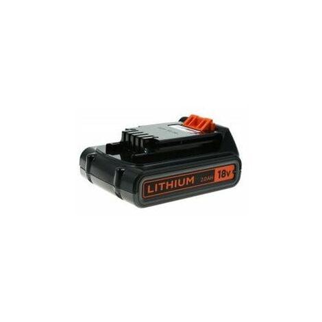 Batería Black & Decker Modelo BL2018 Original